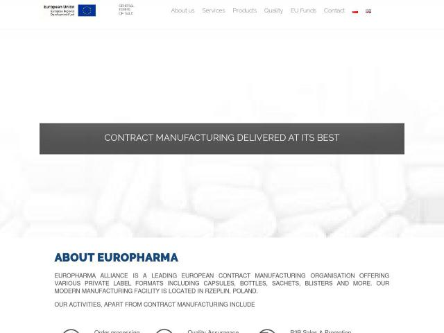 Strona EuroPharma Alliance Sp. z o.o.