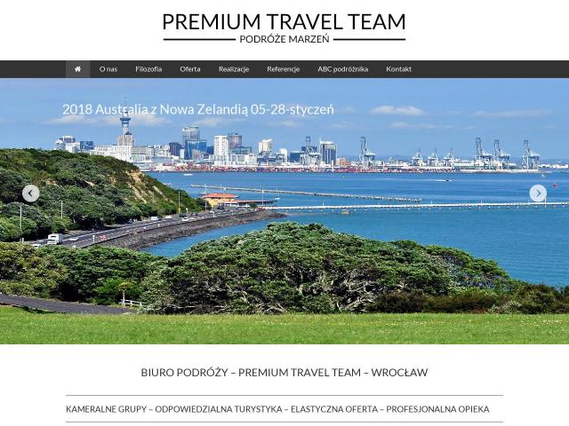 Strona Premium Travel Team
